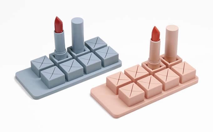 Silicone Lipstick Holder Organizer
