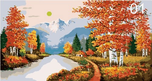 Paint By Numbers Kits-Size 60X120cm-cool stuff