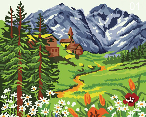 Paint By Numbers Kits-Size 30X40cm-cool stuff