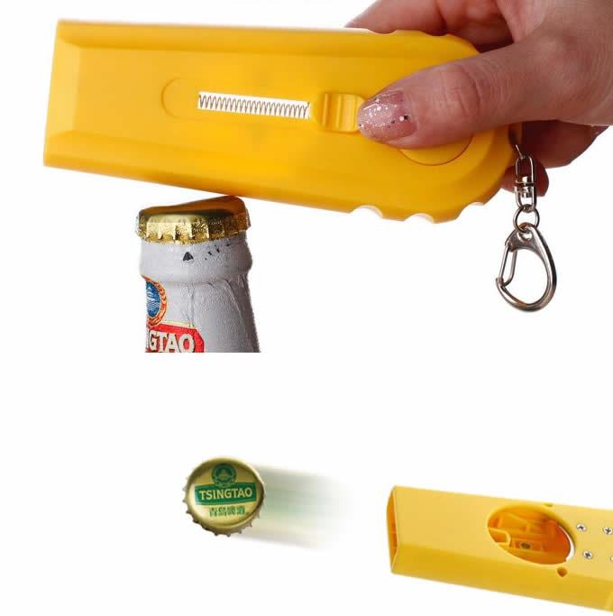 Cap Launcher Bottle Opener