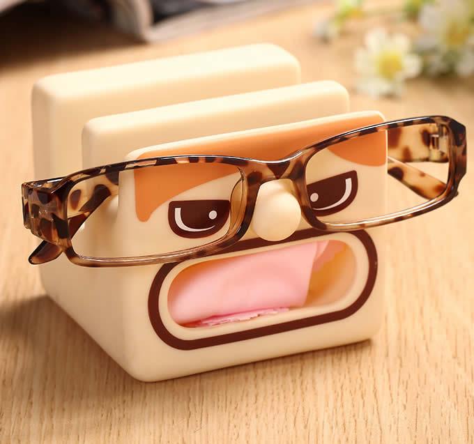 Cartoon Eyeglasses Holder Mobile Display Stand