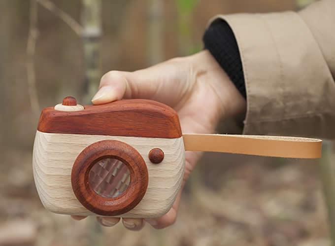 Wooden Camera Kaleidoscope