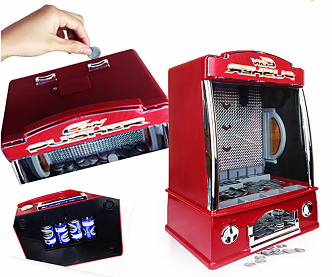 Electronic Push Coin  Game