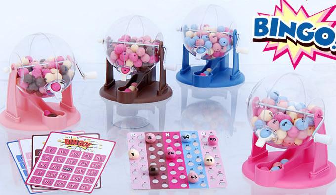 Portable Mini family  Party Bingo Set