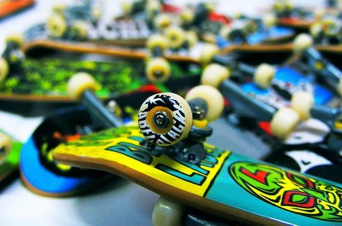 Tech deck finger board mini skateboards feelgift - Tech deck finger skateboards ...