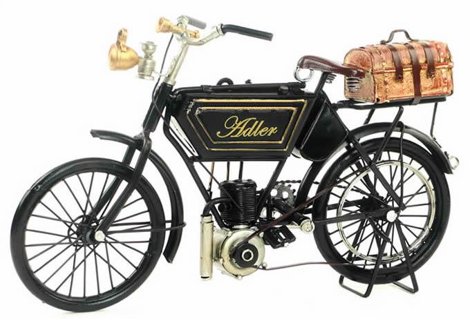 Handmade Antique Model Kit Motorcycle 1903 Adler