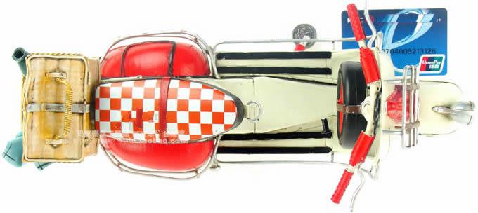 Handmade Antique Model Kit Car-1959 VESPA motorcycle