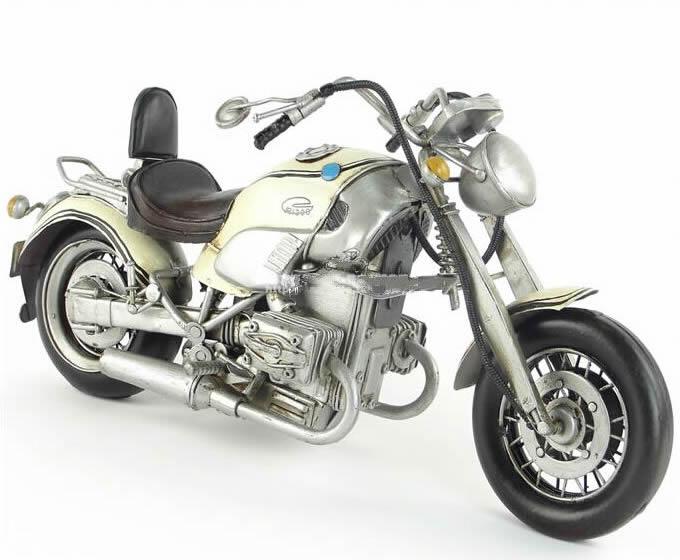 Handmade Antique Model Kit Car-Tomorrow Never Dies German Motorcycle R1200C