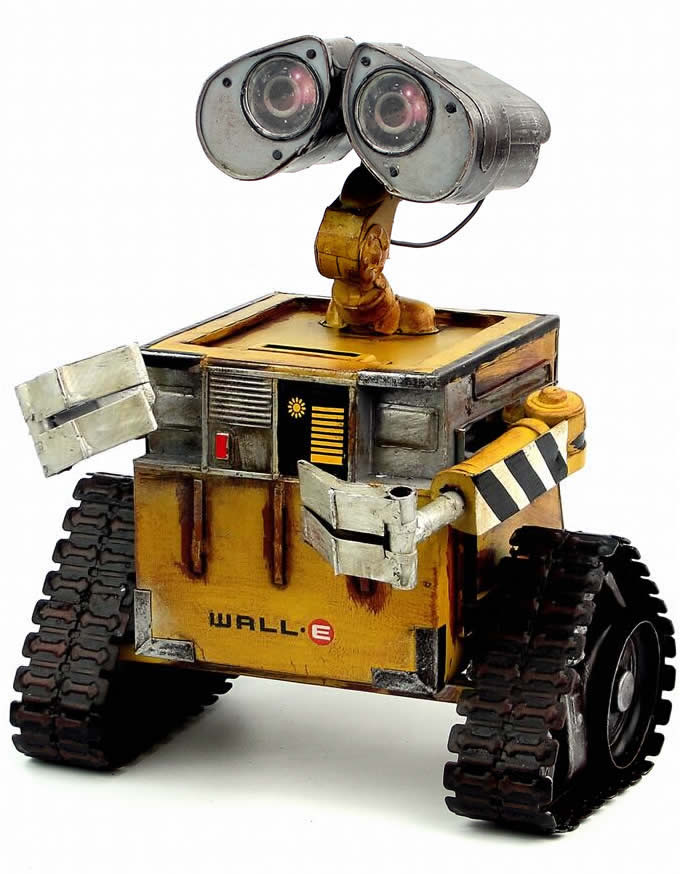 Handmade Antique Tin Model Other-Alien robot