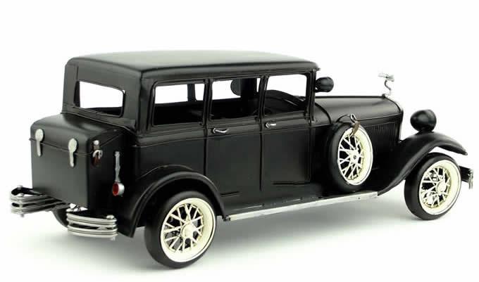 Handmade Antique Model Kit Car1929 Rolls Royce Phantom  FeelGift
