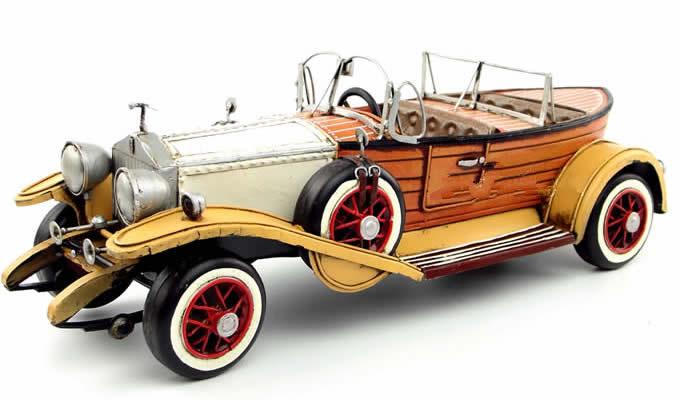 Handmade Antique Model Kit Car-1932 Rolls Royce Phantom