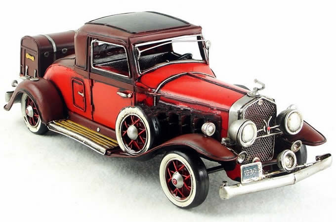 Handmade Antique Model Kit Car 1933 Cadillac V16 Classic