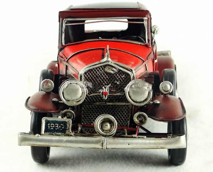 Handmade Antique Model Kit Car - 1933 Cadillac V16 Classic Cars