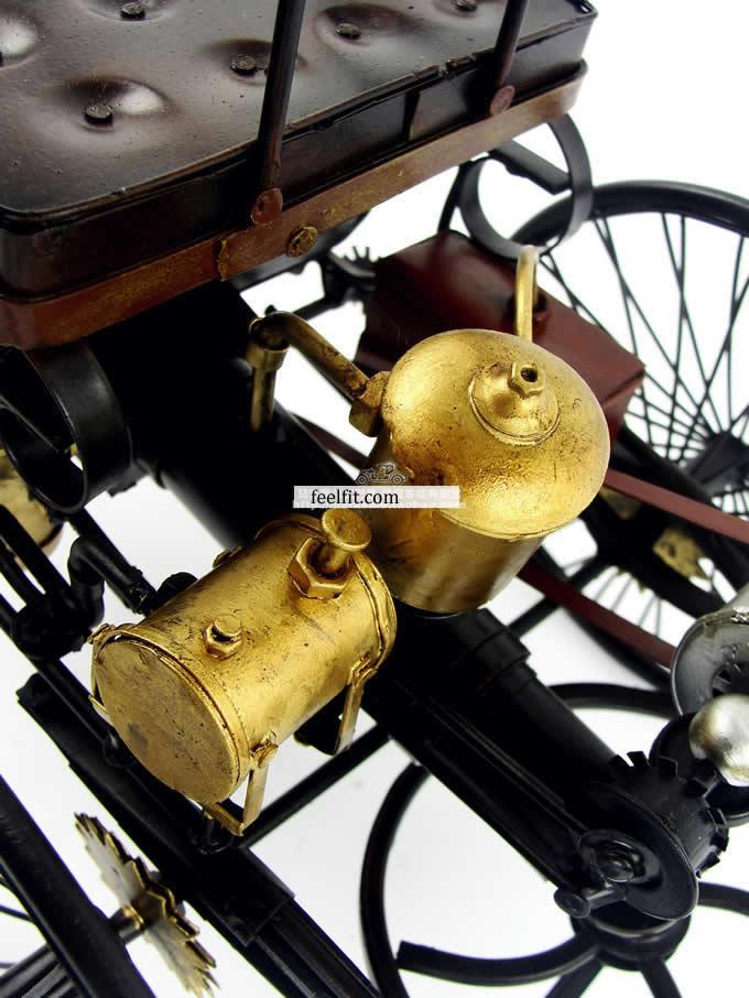 Handmade Antique  Model Kit Car-Benz Patent Motorwagen 1886