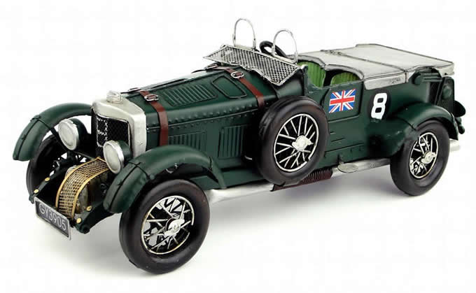 Handmade Antique Model Kit Car-Bingley 1929 Blower
