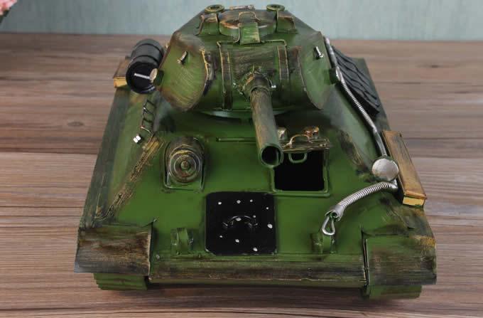 Handmade Antique Model Kit Car-World War Two Germany Tiger Tank