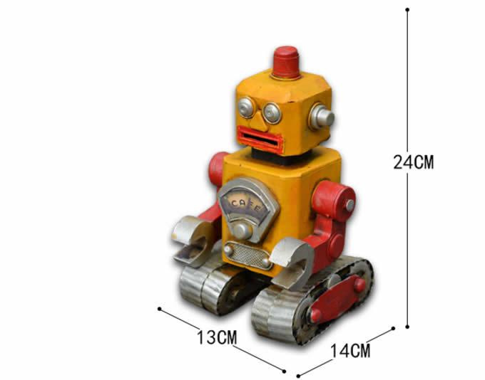 Metal Robot Piggy Bank Feelgift