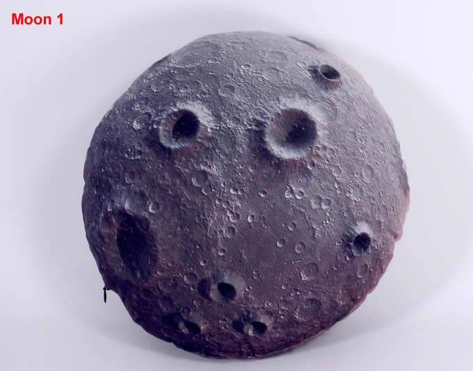 Handmade Solar System Planets Throw Pillow Feelgift