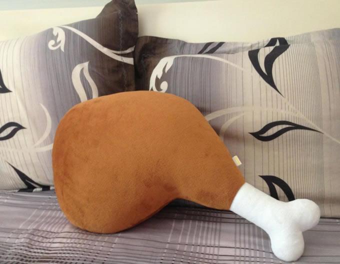 Chicken Leg Shaped Cushion Pillow