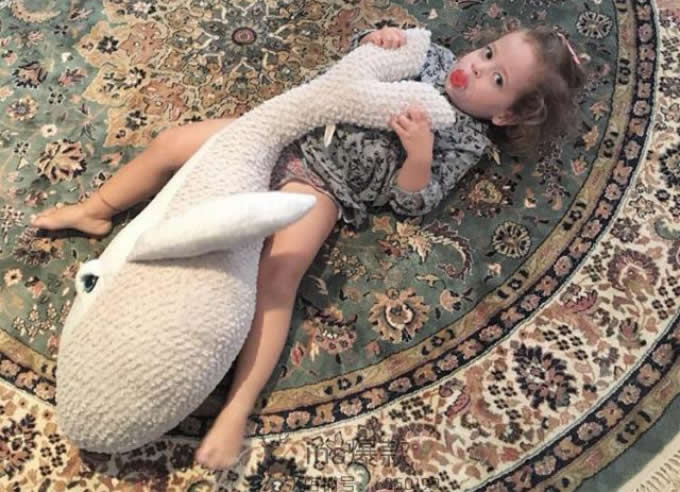 Dolphin Ocean Animal Dolls Kids Plush Pillow Super Soft Toys