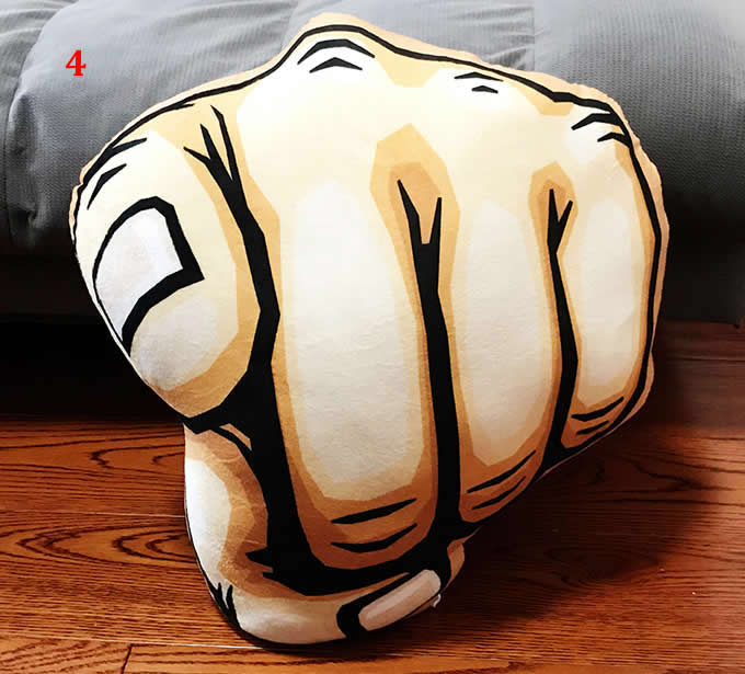 Hand Finger Gesture Thumbs-up Pillow Cushion Plush Stuffed