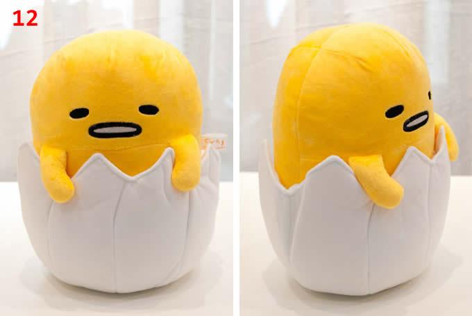 Lazy Egg Plush Doll Cushion Pillow
