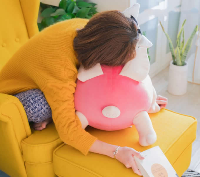 Lovely Animal Pig Sofa Pillow Cushions Toy