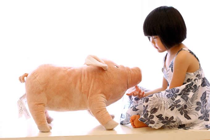 Pig Shaped Pillow Cushion Plush Stuffed