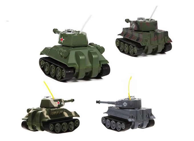 Micro Wireless Rc Tank Feelgift