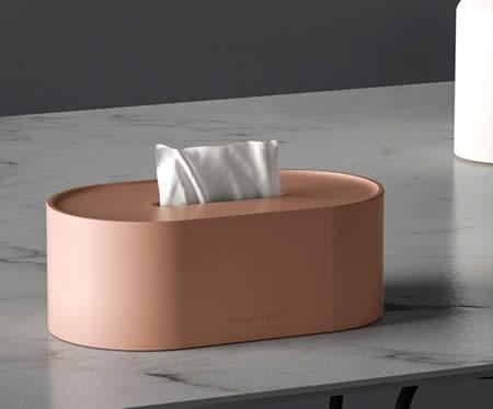 Fashion Art Living Room Office Desktop Decoration Concrete Tissue Box