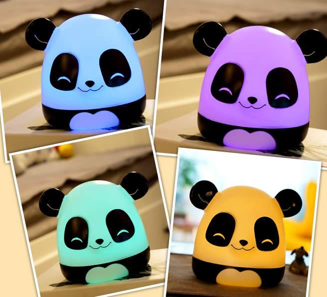 Cute Panda USB Rechargeable Children Night Light Gift Ideas