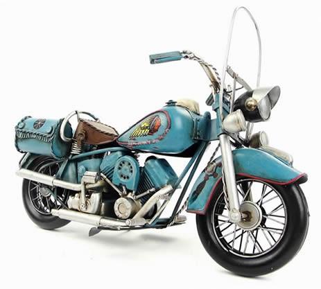 Handmade Antique Model Kit Motorcycle-1969  US Indian Motorcycle