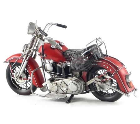 Handmade Antique Model Kit Motorcycle- 1939 Harley  EL  Motorcycle