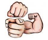Hand Finger Gesture Thumbs-up Pillow Cushion Plush Stuffed