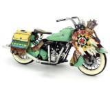 Handmade Antique Model Kit Motorcycle-1953 Harley Motorcycle