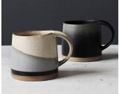Pastoral Retro Gradient Color Ceramic Mug Coffee Cup