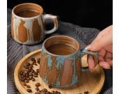 Handmade Vintage Ceramic Mug Coffee Cup