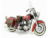 Handmade Antique Model Kit Motorcycle-1952 Harley FL Motorcycle