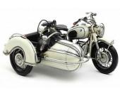 Handmade Antique Model Kit Motorcycle-1961 German Motorcycle R60