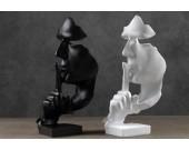 Head Face  Figurine Sculpture Desktop Decor