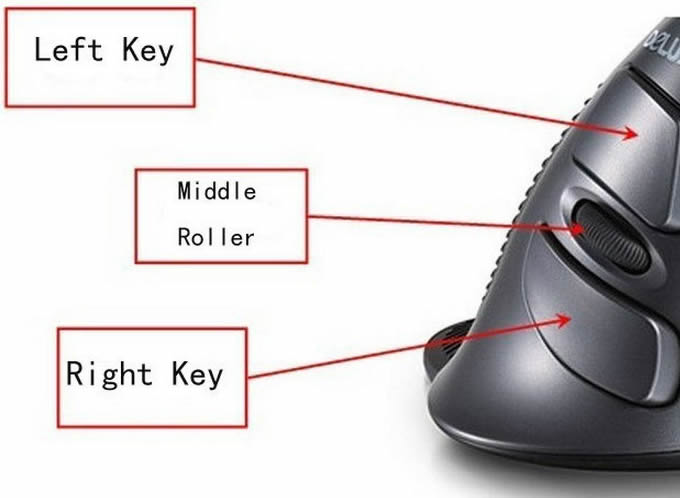 USB  2.4G Optical Wireless Mouse