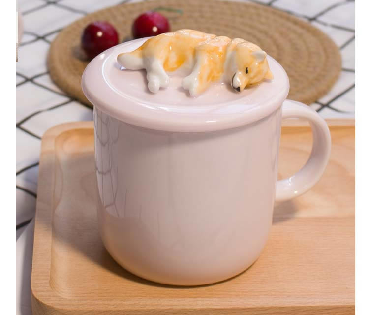 Cute Shiba Inu Ceramic Coffee Cup