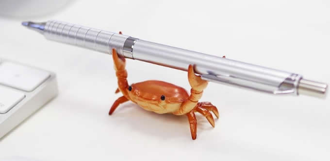 Crab  Single Pen Stand