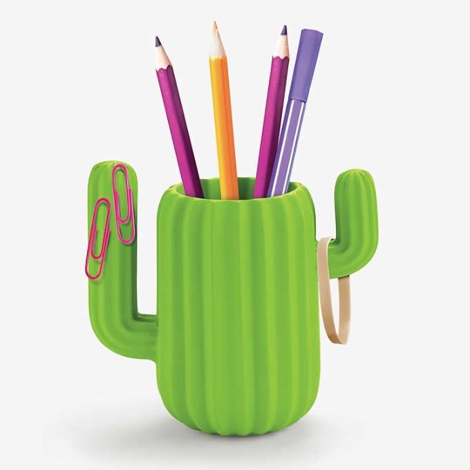 Cactus  Pen Holder Desktop Organizer