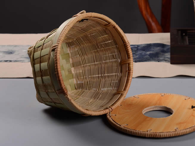 Country Bamboo Woven Tissue Box