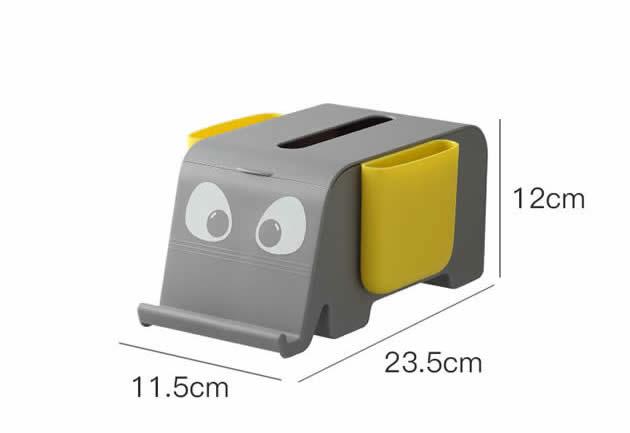 Cute Elephant Multifunctional Organizing Storage Box Tissue Box